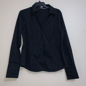 Black Non-Iron Button Down Shirt from Calvin Klein